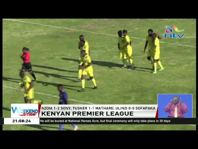 James Nandwa guides Sony Sugar beat Nzoia Sugar 2-1 || Kenyan Premier League