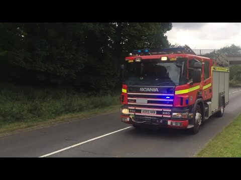 Norfolk Fire & Rescue Responding - Driver Training Pump