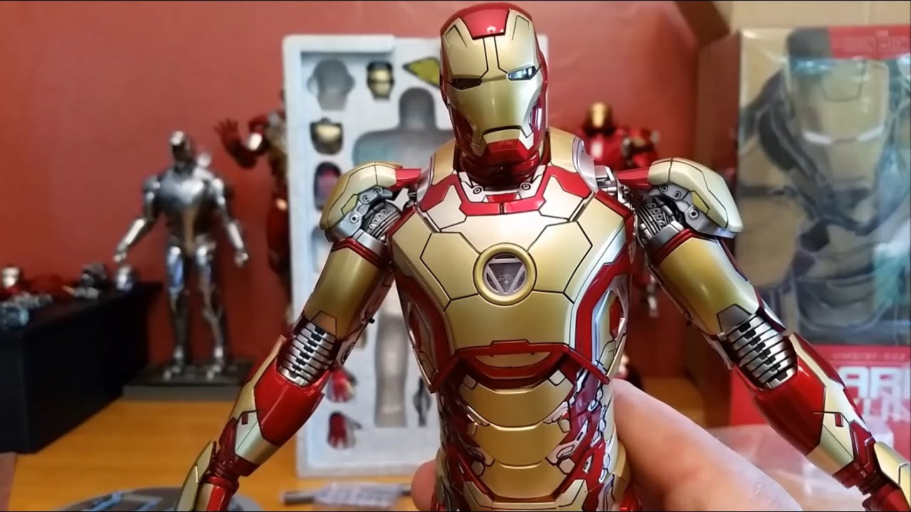 unboxing hot toys iron man mk 42 16 scale mms 197 d02