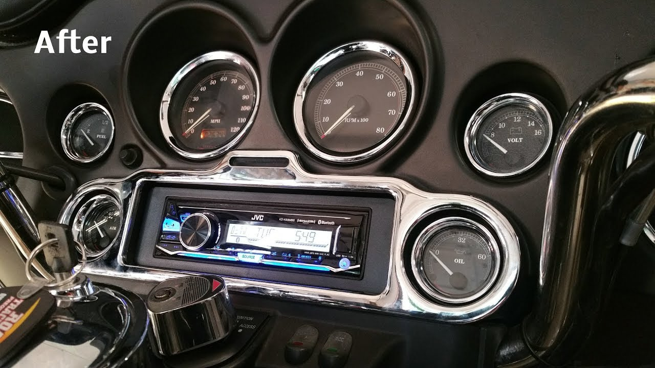 small resolution of harley 6 speaker stereo amp install complete and detailed all under 750