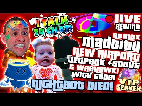 Randem Gamor On Mad City Airport Update Nightbot Died Road To