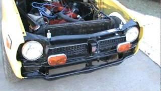 440 Powered 1977 Honda Civic Burnout 2