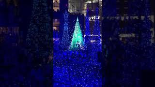 日本東京2018聖誕點燈Caretta汐留《冰雪奇緣》有音樂版