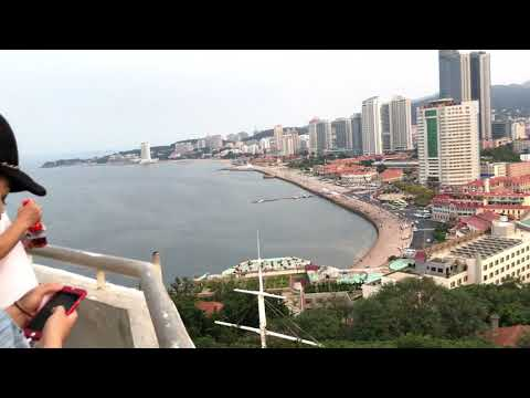 China-Shandong Yantai View from Hill