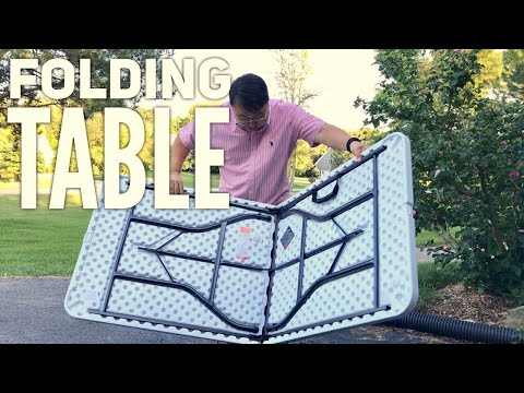 6' Molded Folding Table by Cosco Review