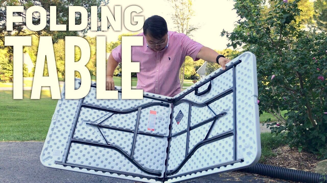 6 Molded Folding Table By Cosco Review