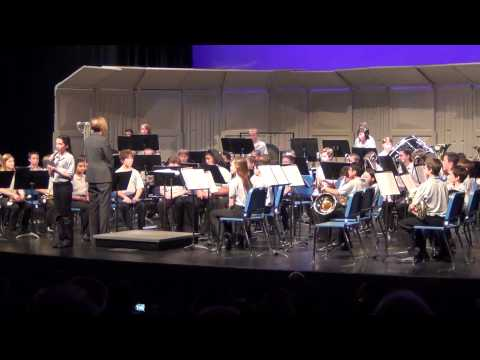 6th grade wydown middle school band concert