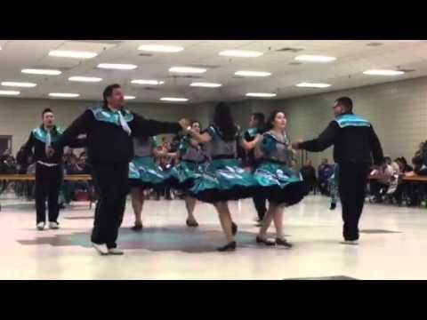 Oji-Cree Metis square Dancers
