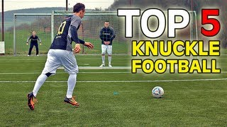 Top 5 | best footballs soccer balls for knuckle shots/knuckleballs | freekickerz