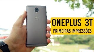 OnePlus 3T - O CELULAR MAIS RÁPIDO QUE JÁ USEI (Primeiras Impressões)