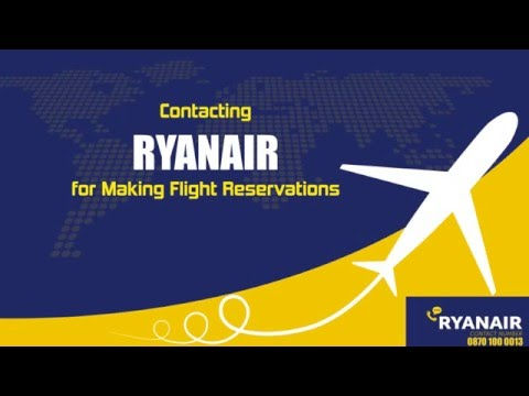 Contact Ryanair For Flight Reservations | Ryanair FAQ