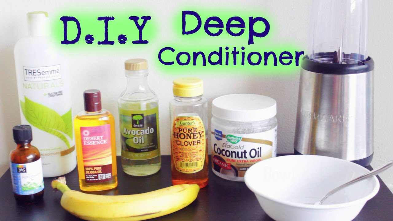 D.I.Y Moisturizing Deep Conditioner