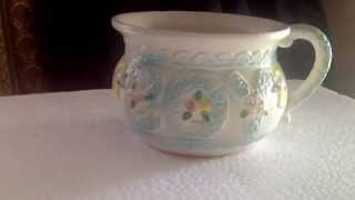 Ceramic baby potty on Ebay, All You Need Antiques and Collectibles
