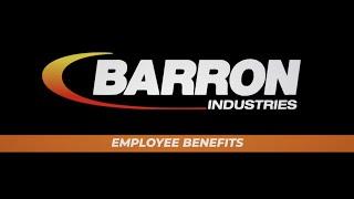 New Health Benefits at Barron Industries - 2019