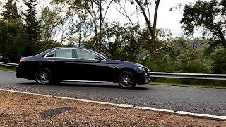 2017 Mercedes E63 S AMG Drift and Exhaust Compilation