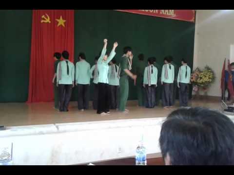 Múa Linh Thiêng Việt Nam - 12a10 (12-15) trường THPT số 1 Phù Cát