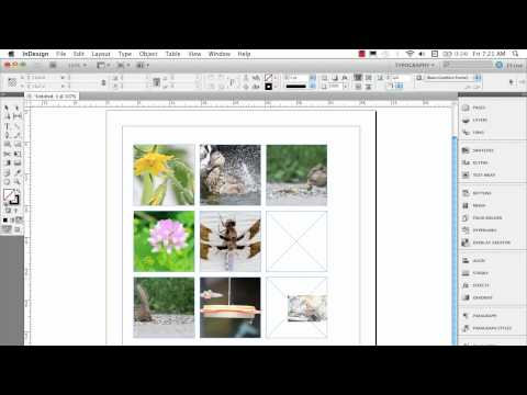 how to create a slideshow in indesign cs6