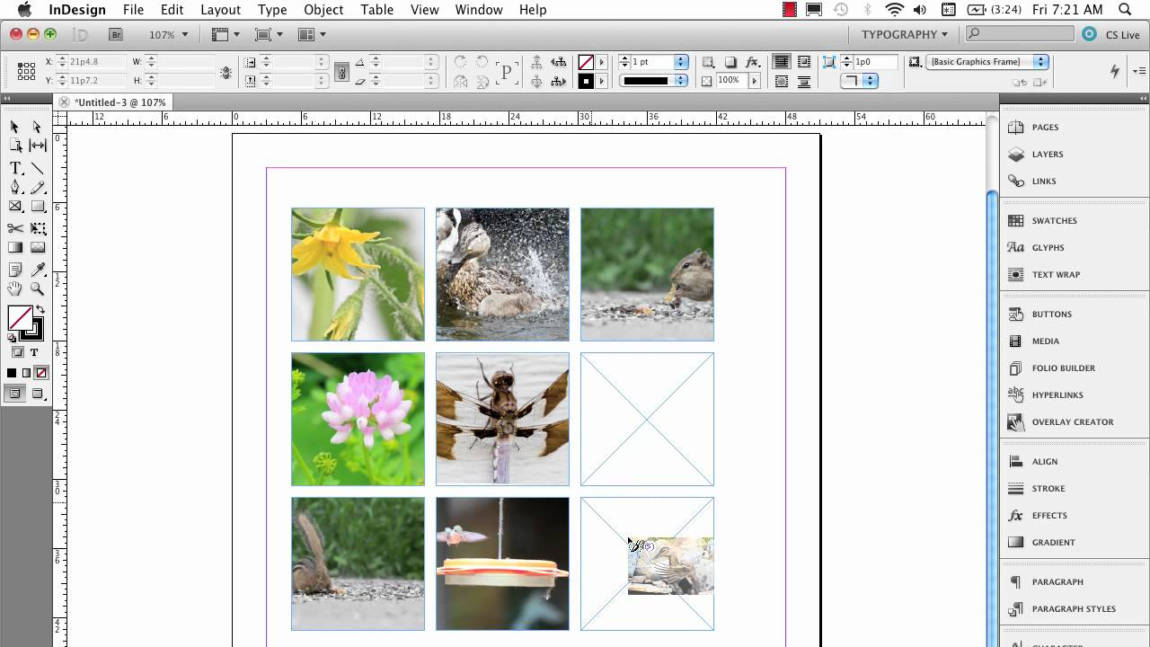 InDesign Multiple Frame Tips - YouTube