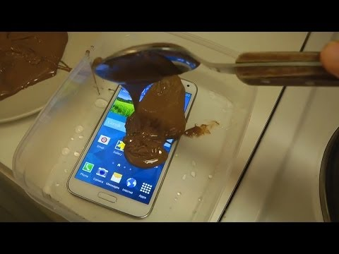 Samsung Galaxy S5 Chocolate Test Will It Survive?