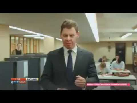 NZ News Reporter Told Off Then Fights Back! Thug Life Style