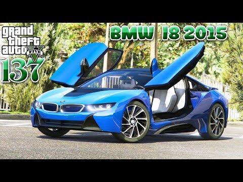 រកណាបានលោក BMW ស៊េរីម៉ាខប់ 2015 i8 - BMW i8 2015 Super Showcase GTA 5 Real Life Ep137 Khmer|VPROGAME