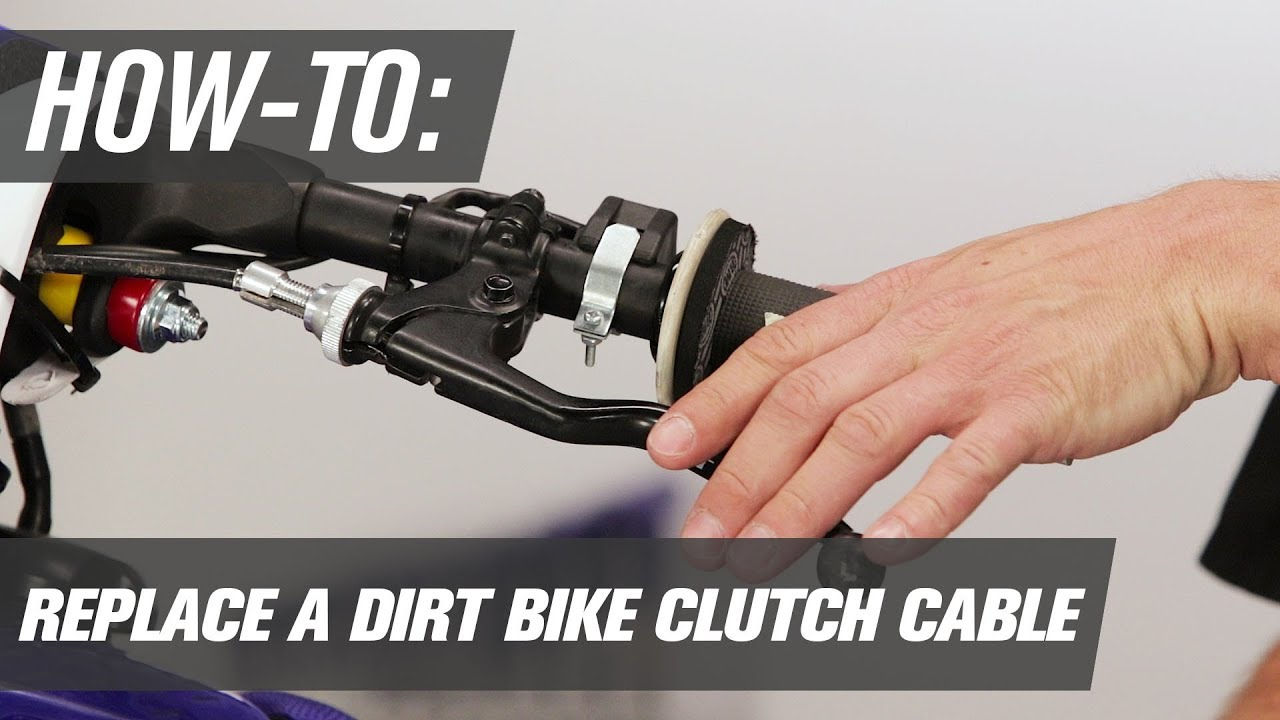 how to replace a dirt bike clutch cable [ 1280 x 720 Pixel ]