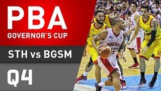 STAR VS. GINEBRA - Q4 | Governor's Cup 2016