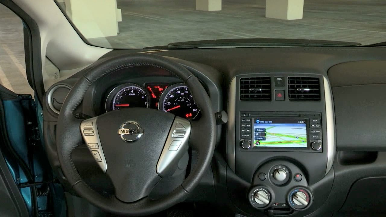2014 Nissan Versa Note Interior Youtube