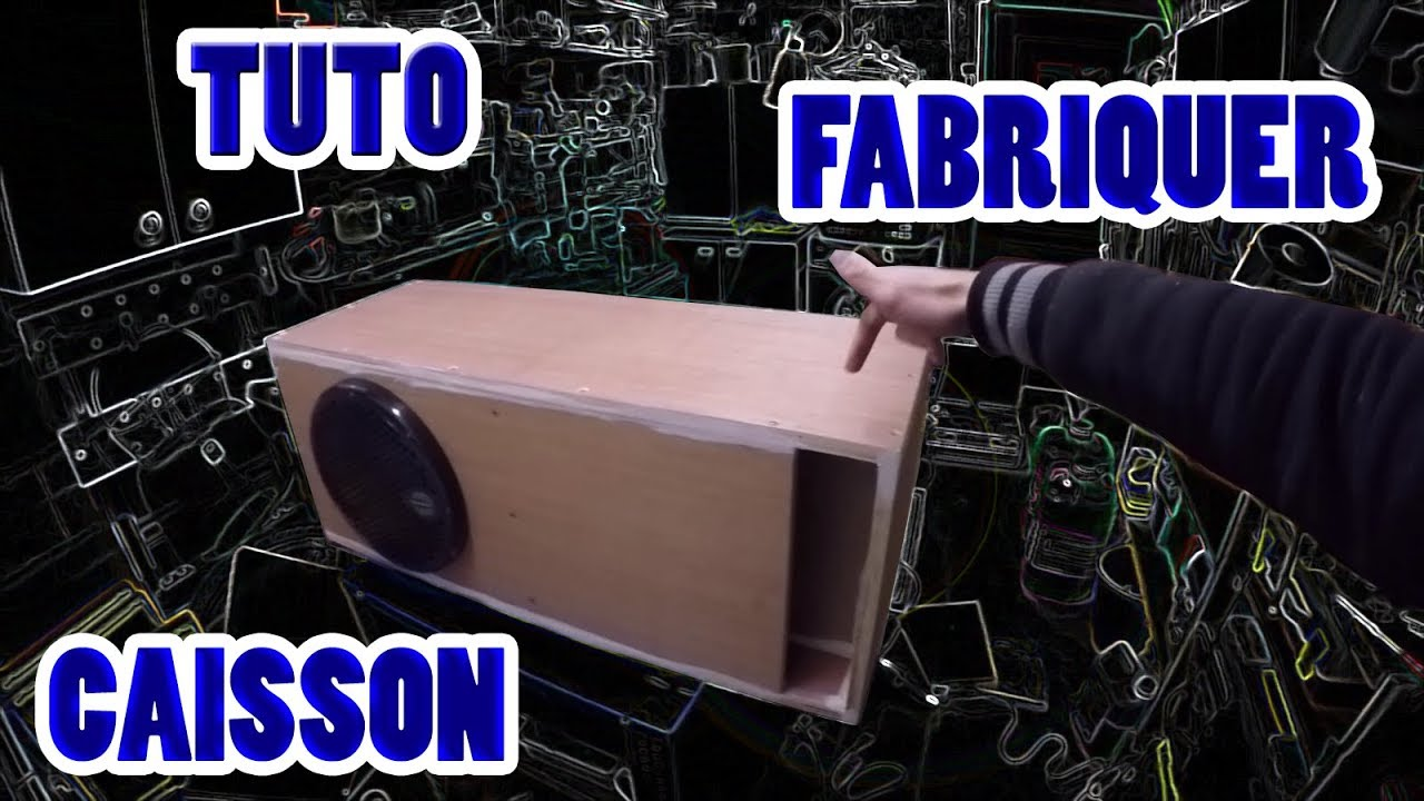 tuto fabriquer un caisson pour voiture hors serie youtube. Black Bedroom Furniture Sets. Home Design Ideas