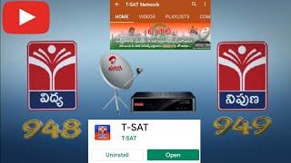 Tsat Vidya   Nipuna   Airtel DTH   Tsat App Live Channels   Youtube Live Channels    Online Classes