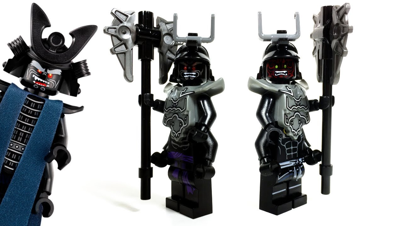 LEGO Ninjago Movie Custom Lord Garmadon Minifigure - YouTube
