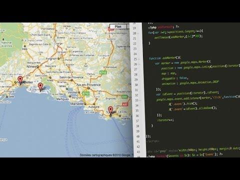Tutoriel jQuery - Google Maps API