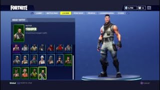 FORTNITE BATTLE ROYALE ~ ALL MY SKINS,HARVESTING TOOLS,EMOTES AND MORE ?