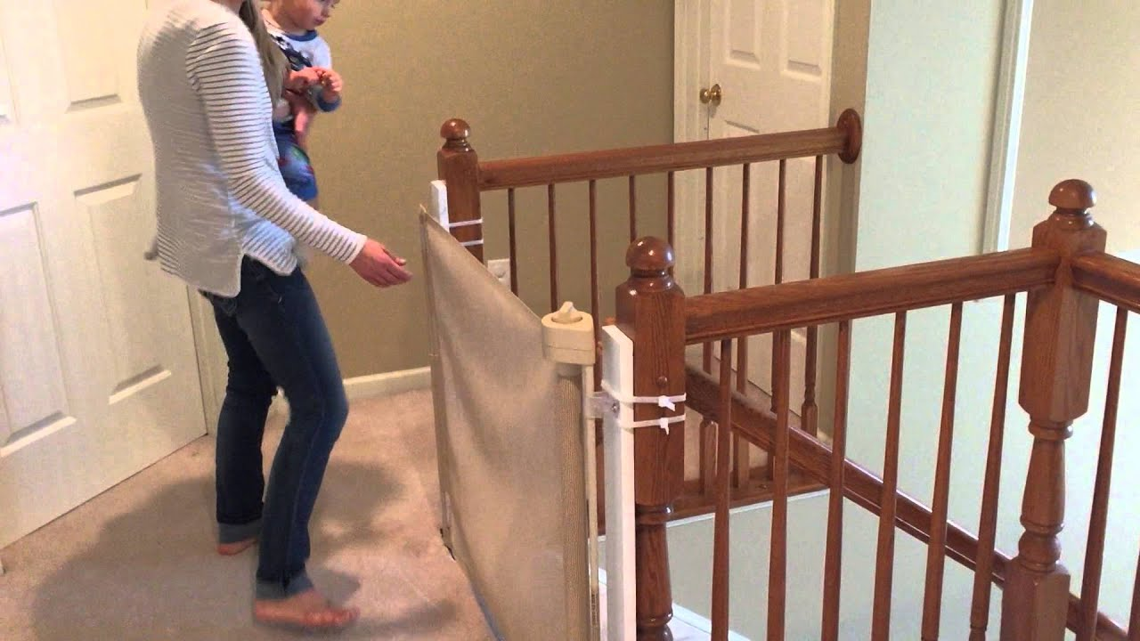 Retract A Gate Baby Gate Videos Reviews Watch Our Baby Safety Gate In Action