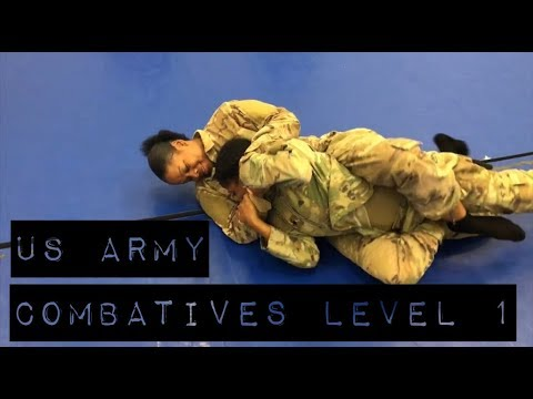 US Army Combatives Level 1 DaillyT