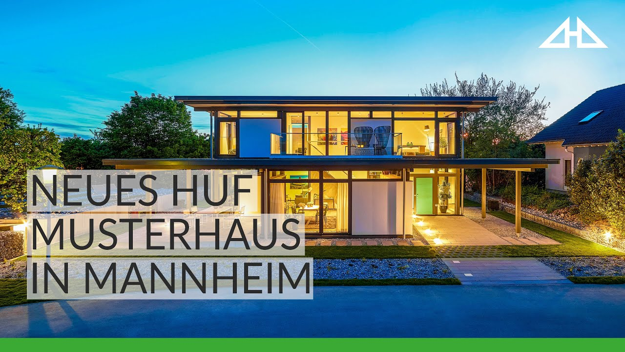 huf haus mannheim das neue musterhaus youtube. Black Bedroom Furniture Sets. Home Design Ideas