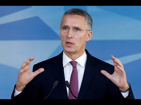 WATCH LIVE: NATO Secretary General Stoltenberg holds a news