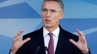 WATCH LIVE: NATO Secretary General Stoltenberg holds a news conference