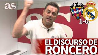 Levante 1- Real Madrid 0 | De Los Discursos Más Intensos De Roncero: Se Serenó Tres Veces | As