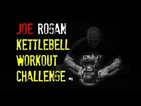 Joe Rogan Kettlebell Workout Challenge