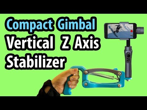 Compact Phone Gimbal Vertical Z (4th) Axis Stabilizer
