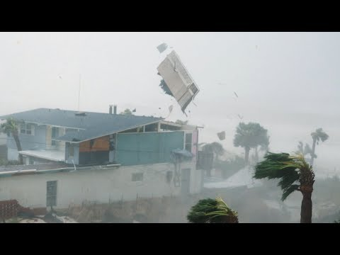 Extreme 4K Video of Category 5 Hurricane Michael