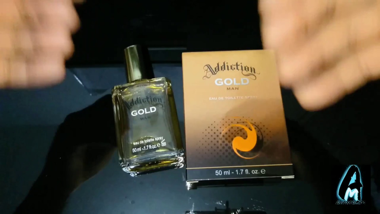 Addiction Gold Mens Fragrance Review Youtube