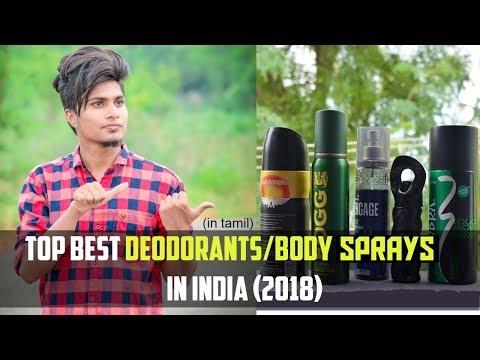 Top Best Deodorants/Body sprays in India 2018  In Tamil 