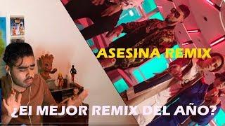 Asesina remix - Brytiago / Darrel/ Daddy Yankee / Ozuna / Anuel AA (Video Oficial) Reacción