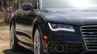 Audi A7 3.0T Quattro Video Test Drive