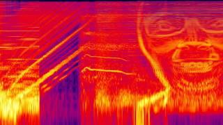 [Spectrogram] Aphex Twin / ΔMi−1 = −∂Σn=1NDi[n][Σj∈C{i}Fji[n − 1] + Fexti[[n−1]]