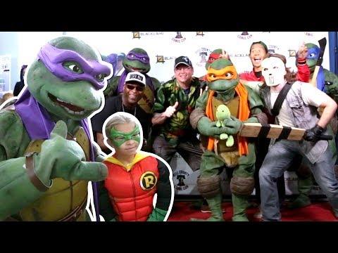 TMNT Teenage Mutant Ninja Turtles VS Bell County Comic Con 2017