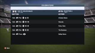 FIFA 14 | All EAS FC Unlockable Celebrations List