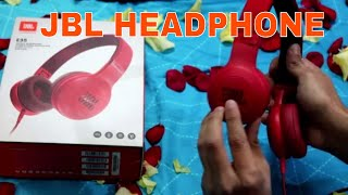 JBL E35 HEADPHONE | UNBOXING | JUST AWESOME